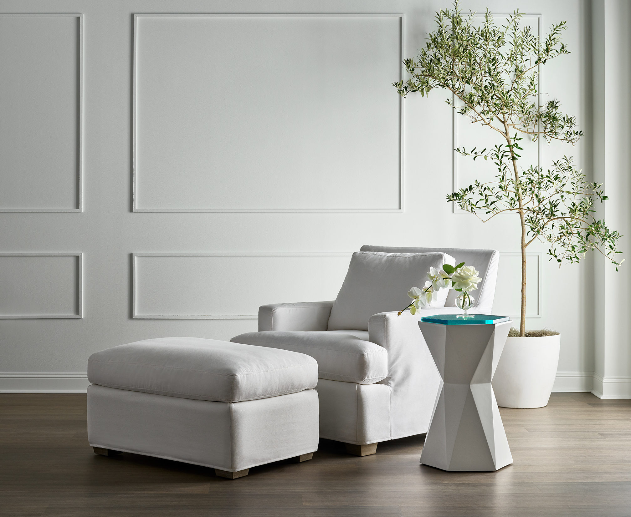 Image of a chair from the Miranda Kerr Home collection